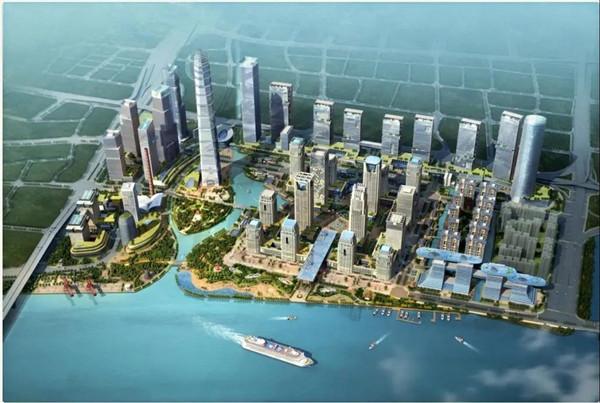 腾晖智慧建造精选   广州国际金融城项目工程